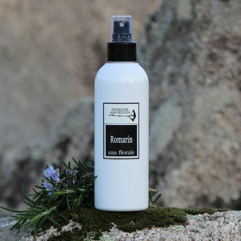 Romarin à verbénone eau florale hydrolat bio corse Domaine Amuredda