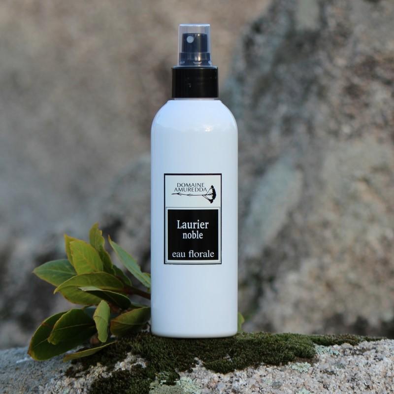 Laurier noble eau florale hydrolat bio corse Domaine Amuredda