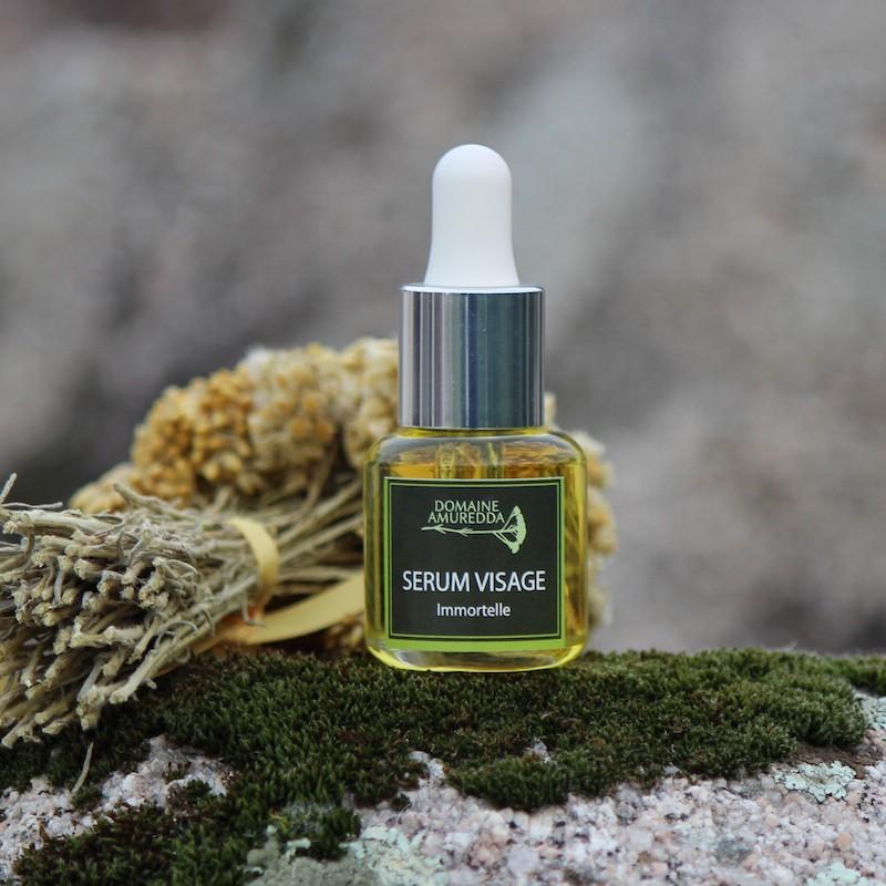 Sérum visage à l'huile essentielle d'Immortelle bio corse Domaine Amuredda