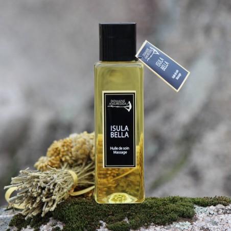 Isula Bella - Huile de soin et massage aux senteurs du maquis corse